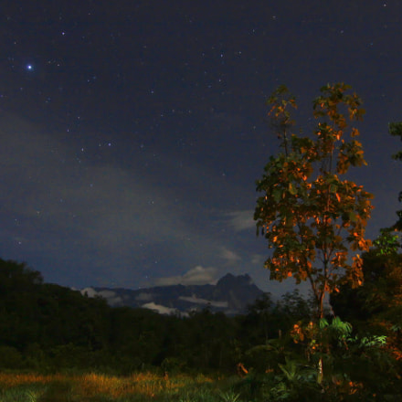 Mt. Kinabalu at Kg, Canon EOS 550D