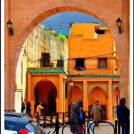 Fez, Morroco., Nikon D7000, AF-S DX VR Zoom-Nikkor 18-105mm f/3.5-5.6G ED