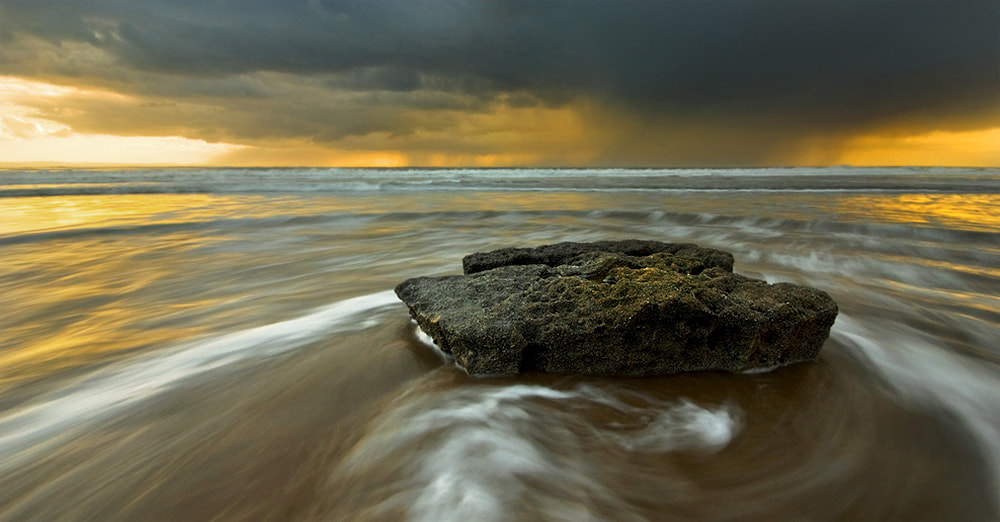 Photograph Distant rain by Geoffrey Baker on 500px