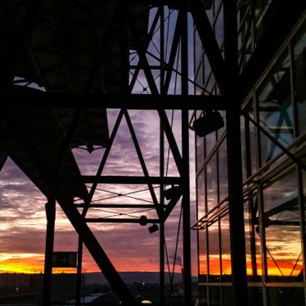 Airport sunset#2, Samsung Galaxy S5 LTE-A