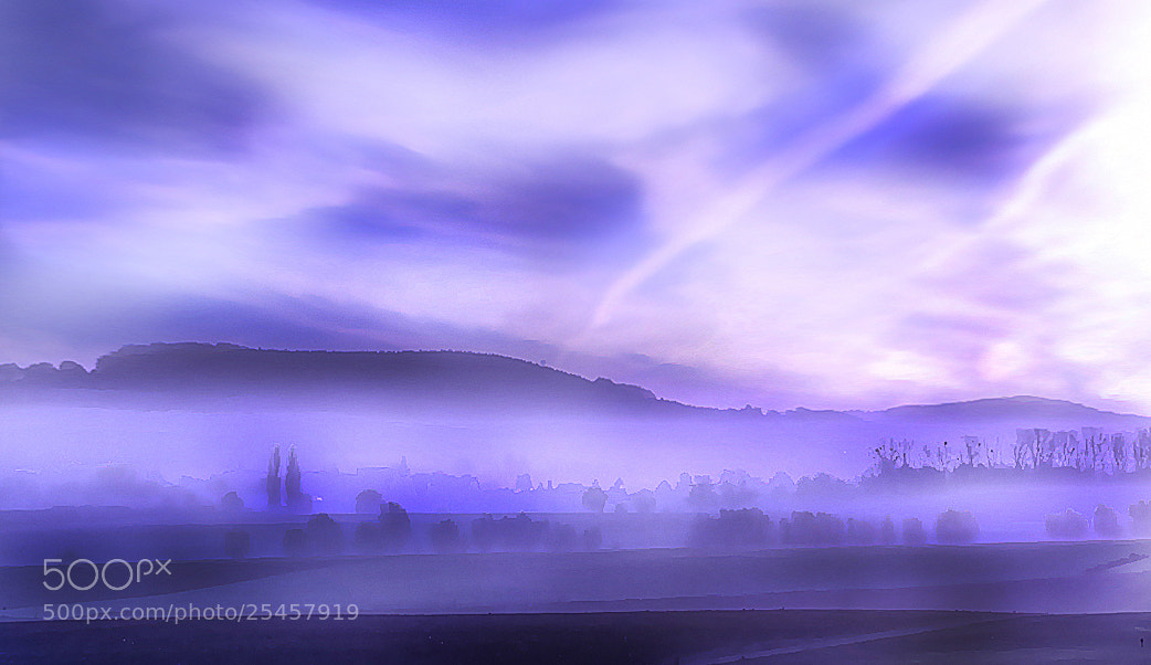 Photograph feeling blue and misty by Patrick Strik on 500px