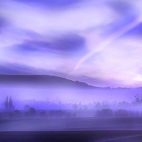 feeling blue and misty by Patrick Strik (PatrickStrik)) on 500px.com