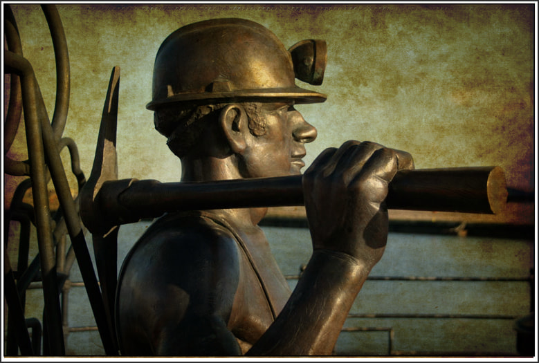 Photograph Textured Miner by Peter Leech on 500px