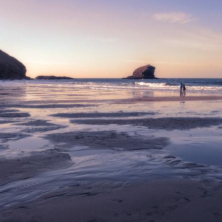Portreath sunset, Sony DSC-N1