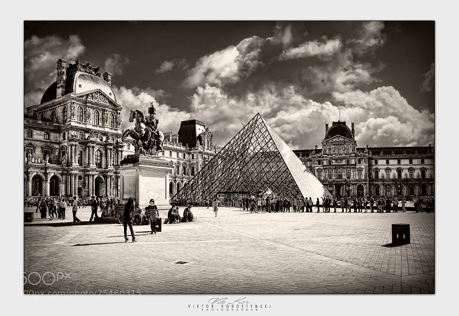 Photograph Louvre. Paris by Viktor Korostynski on 500px