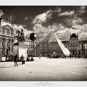 Louvre. Paris by Viktor Korostynski (vikkor)) on 500px.com