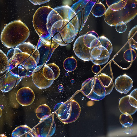 Bubbles, Nikon D5500, AF-S DX Nikkor 18-300mm f/3.5-5.6G ED VR