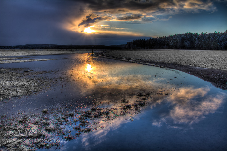 Photograph Cold sunset by Ralph Reichert on 500px