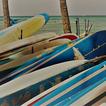Surf Boards, Sony ILCE-6300, Sony E 18-50mm F4-5.6