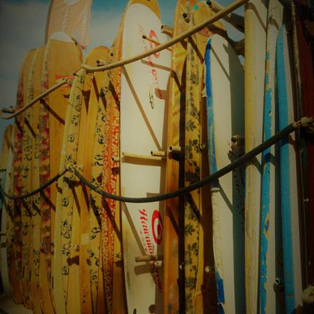 Surf Boards, Sony ILCE-6300, Sony E PZ 16-50mm F3.5-5.6 OSS