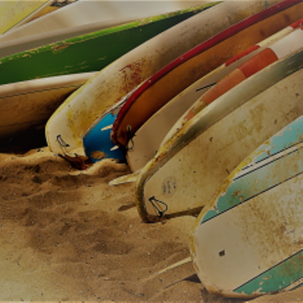 Surfboards, Sony ILCE-6300, Sony E 18-50mm F4-5.6