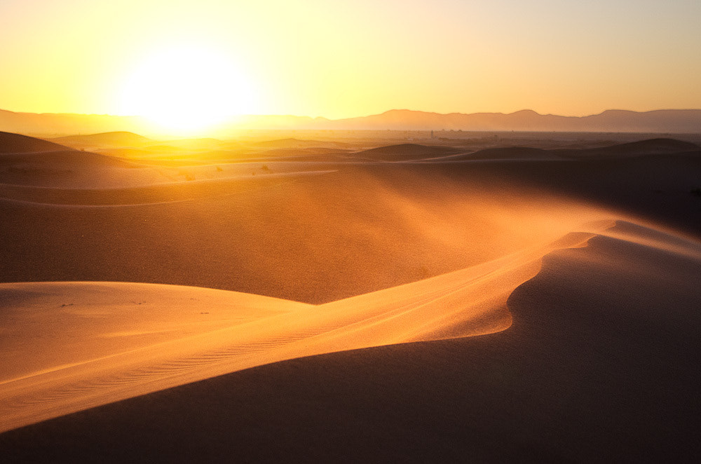 Photograph Saharan Sunset by Chris Jones on 500px