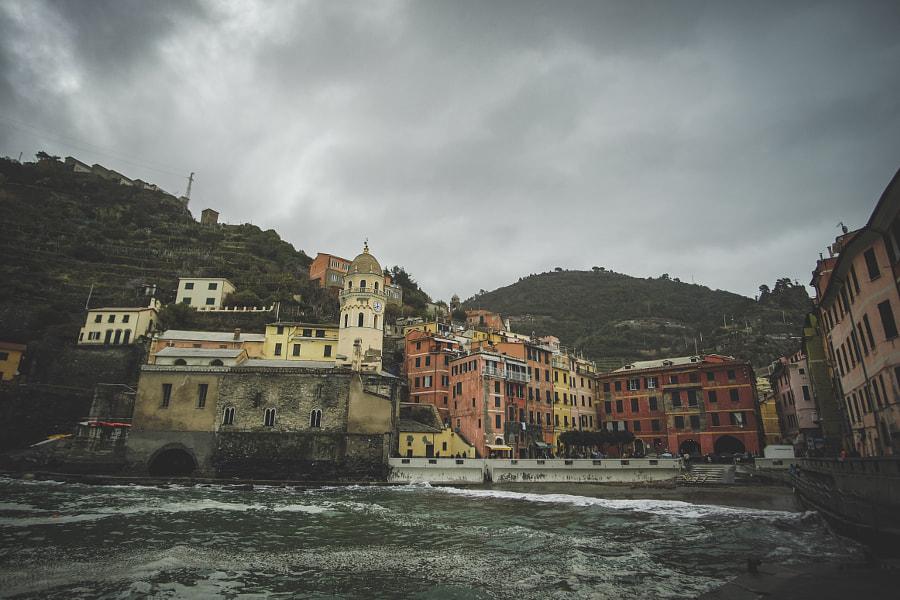 Amazing Vernazza , автор — Aghi  на 500px.com