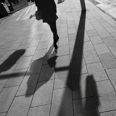 Walk in the street, RICOH PENTAX K-3