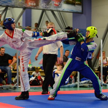 Karate Kick, Nikon D7000, Sigma 50-150mm F2.8 EX APO DC HSM