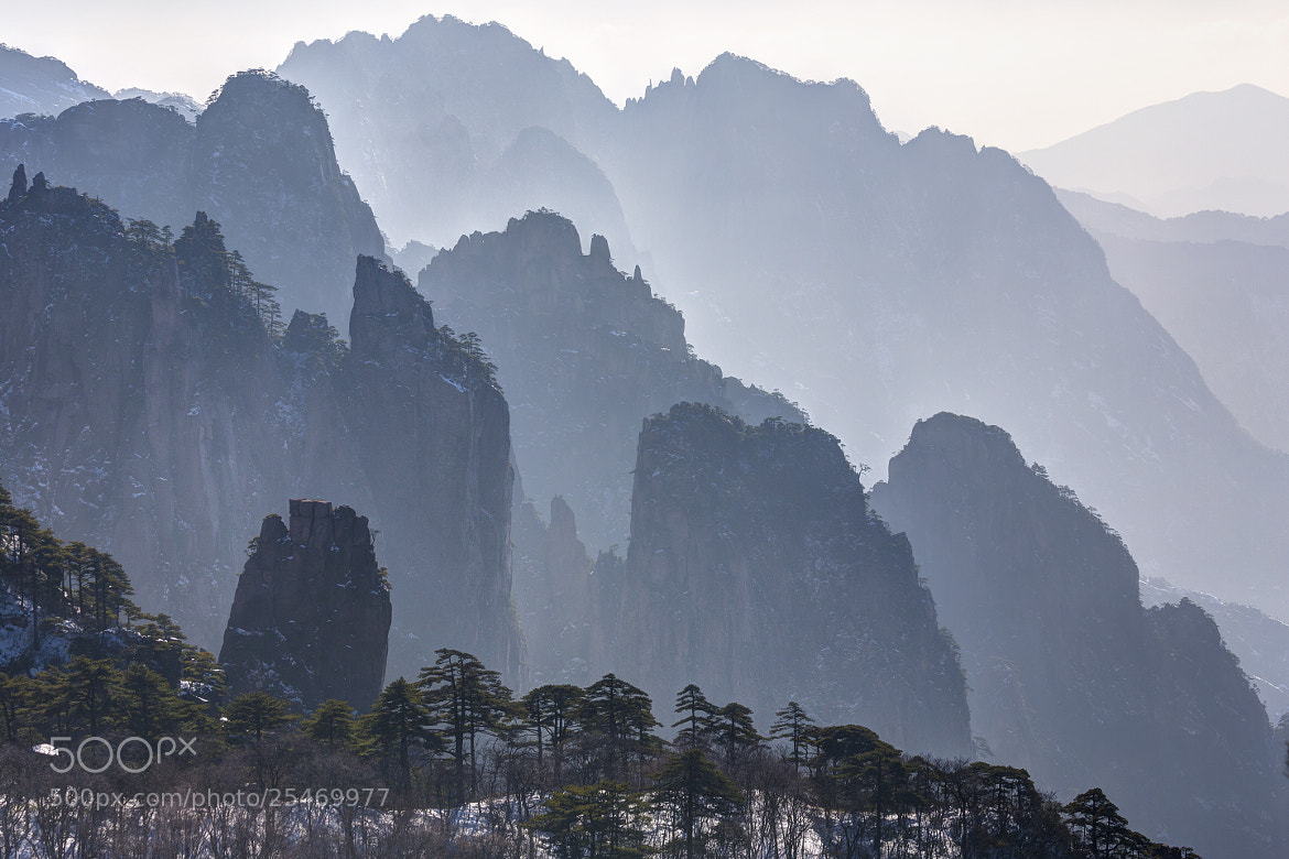Photograph Huangshan Mt. by Chaluntorn Preeyasombat on 500px