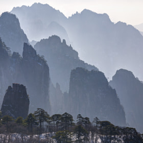 Huangshan Mt. by Chaluntorn Preeyasombat (ting708)) on 500px.com