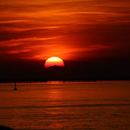 tramonto, Canon EOS 1200D
