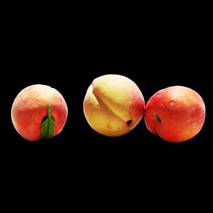 peach fruit, Nikon COOLPIX A100