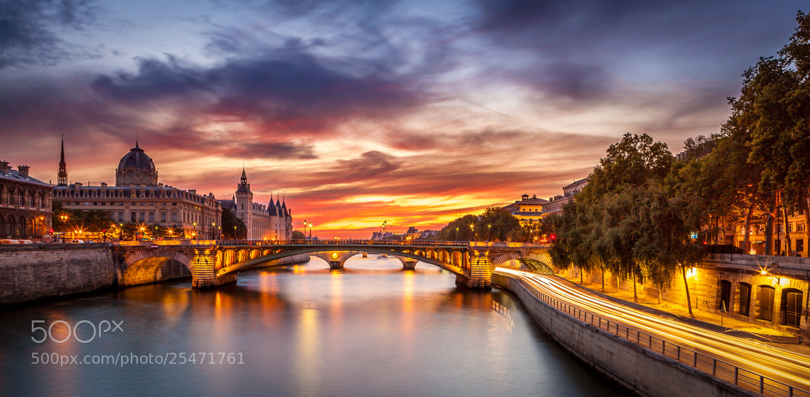 Photograph Conciergerie Bridge Paris  by Ramelli Serge on 500px