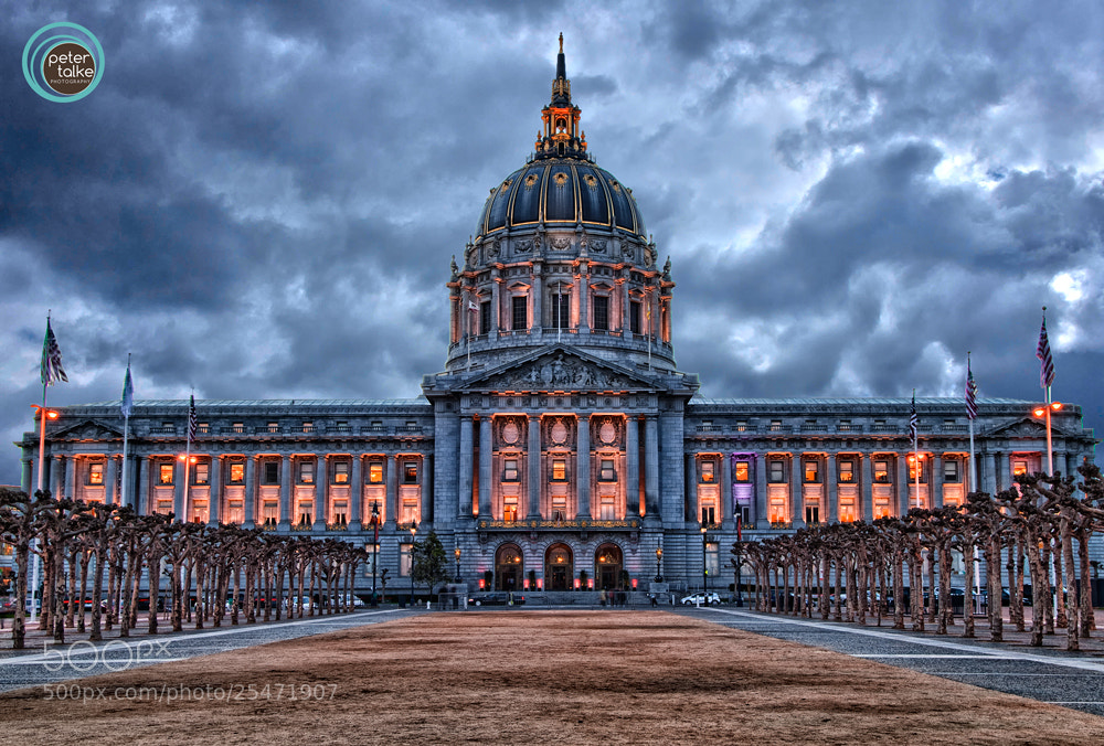 Photograph SF City Hall (HDR) by Peter Talke Photography on 500px
