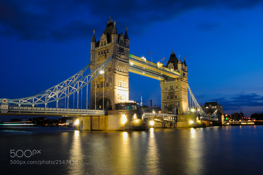 Photograph Tower Bridge by TobesG on 500px