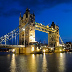 Tower Bridge by TobesG ) on 500px.com