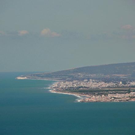 Israel coast, Canon EOS 700D, Canon EF 28-80mm f/3.5-5.6 USM IV