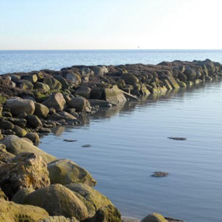 Coast line of Trelleborg, Nikon D200, AF-S DX VR Zoom-Nikkor 18-55mm f/3.5-5.6G