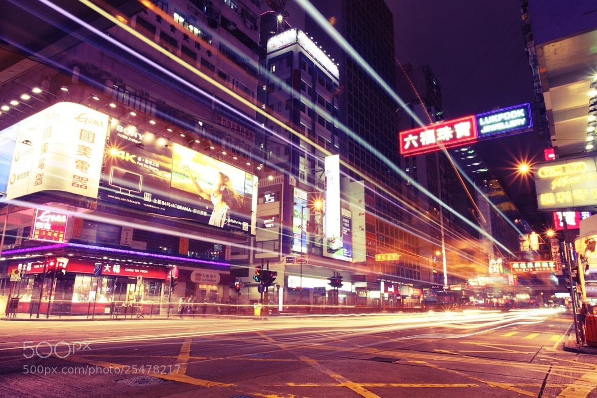 Photograph Lights on Hennessy Road by Rio Akasaka on 500px