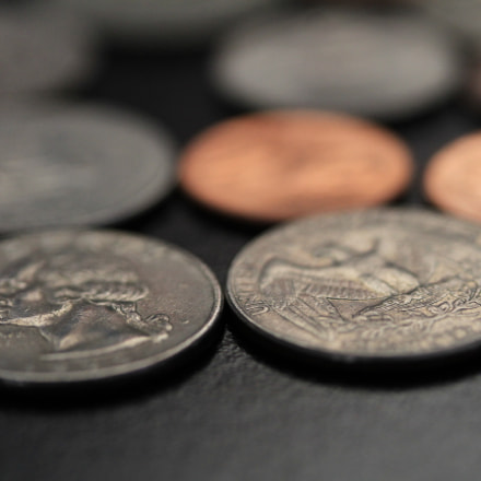 Euros and Pounds, Canon EOS 7D, Canon EF-S 60mm f/2.8 Macro USM