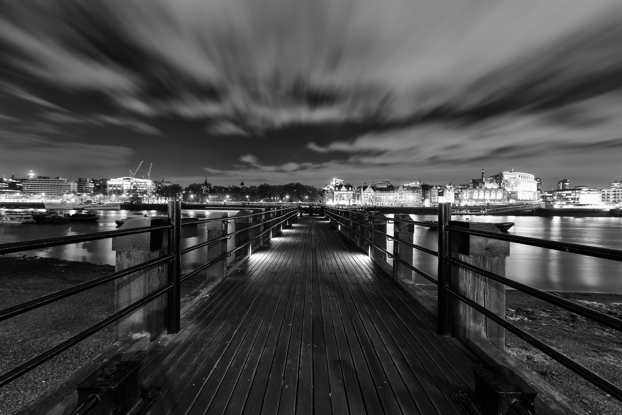 Photograph We're On Another Pier To Nowhere by Sean Batten on 500px