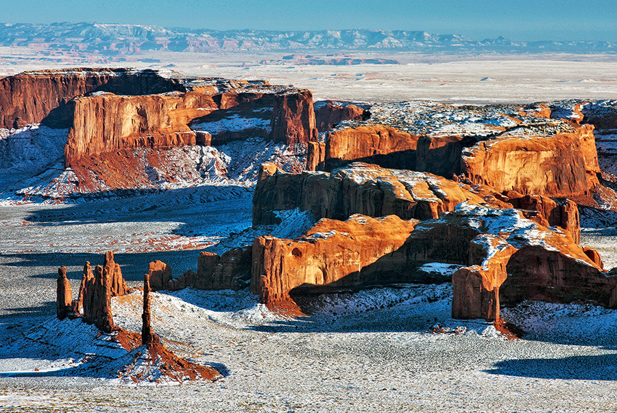 Photograph Monument Valley Winter by John Mumaw on 500px