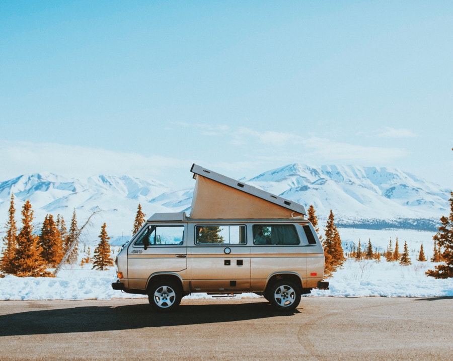 Our home away from home for the next two weeks here in Alaska by Berty Mandagie on 500px.com
