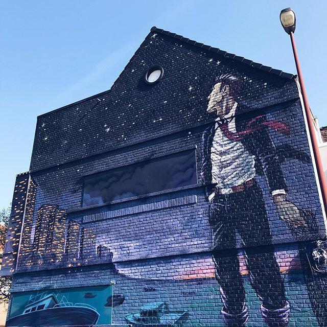 #streetart #oostende #thechrystalship #art #wall #colours #ostende #visitoostende #vsco #vscocam...
