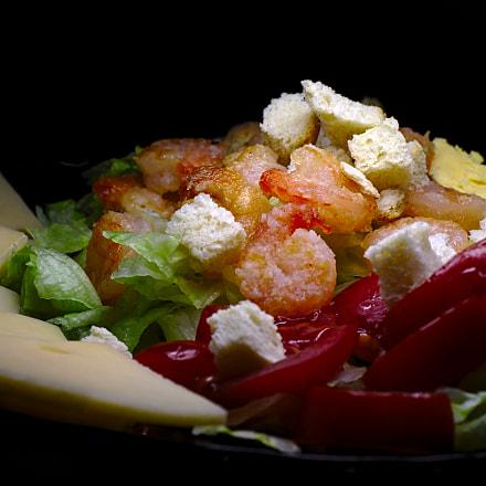 Caesar salad, Canon EOS KISS X9