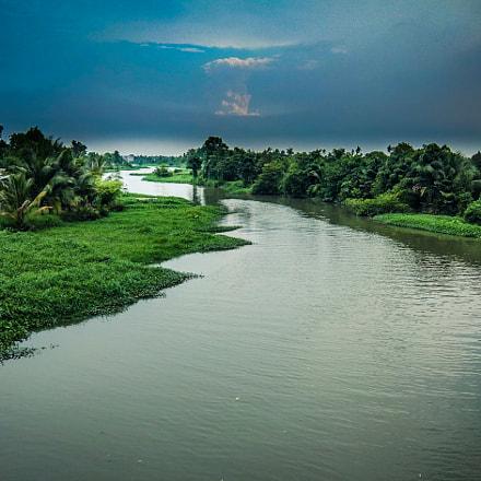 saigon river, Fujifilm XF1
