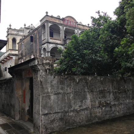 Diaolou house in Kaiping