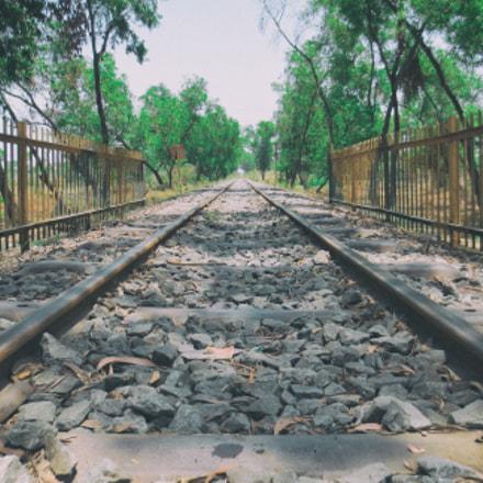 Railway Track, Canon IXUS 240 HS
