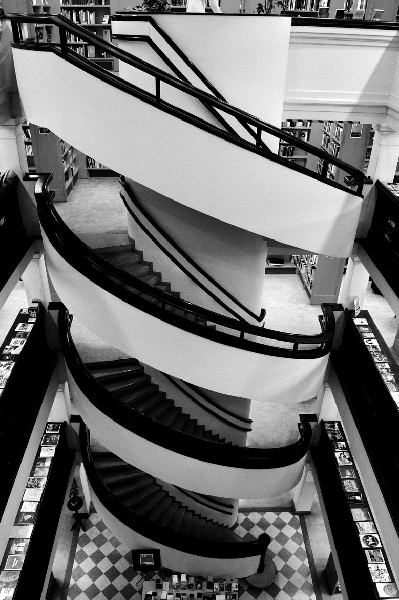 Photograph stairs by J K on 500px
