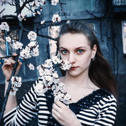 Весенний портрет, Fujifilm FinePix S4000