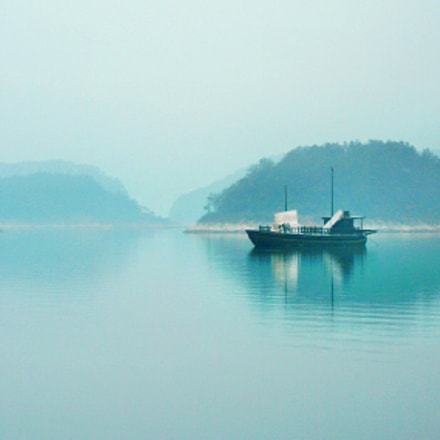 spring of Qian dao, Nikon COOLPIX P5100