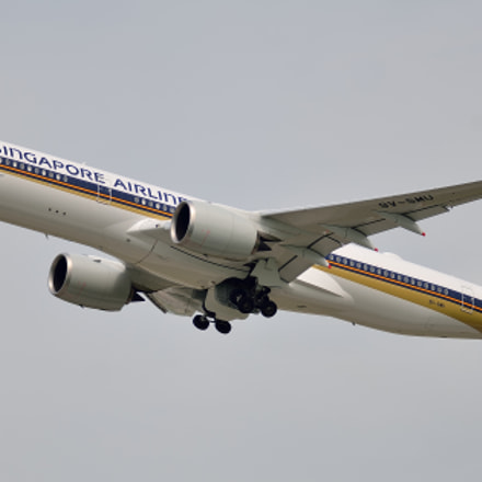 Singapore Airlines Airbus A350-900, Nikon D7000