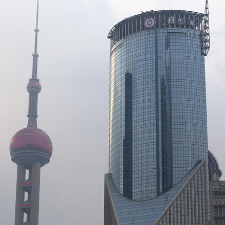 Shanghai TV tower, Canon EOS 6D, Canon EF 85mm f/1.8 USM