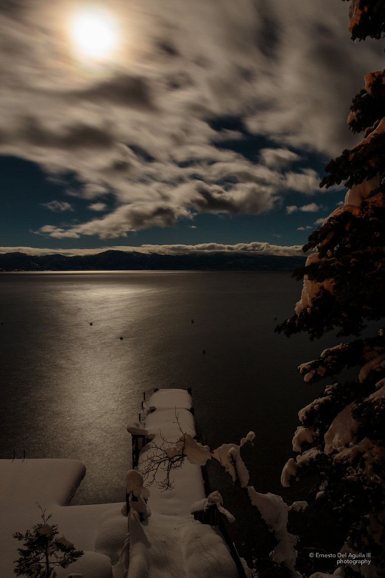 Photograph Moonlit Tahoe night by Ernesto Del Aguila III on 500px