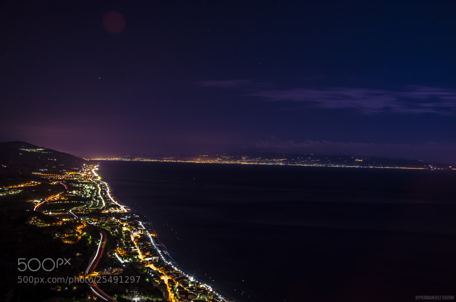 Landscape from Messina by Piermanuele Sberni on 500px.com