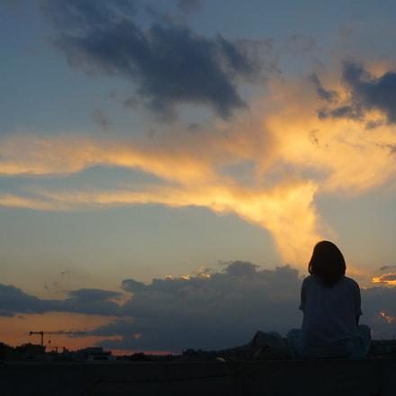 Sunset in Matera, Panasonic DMC-FS6