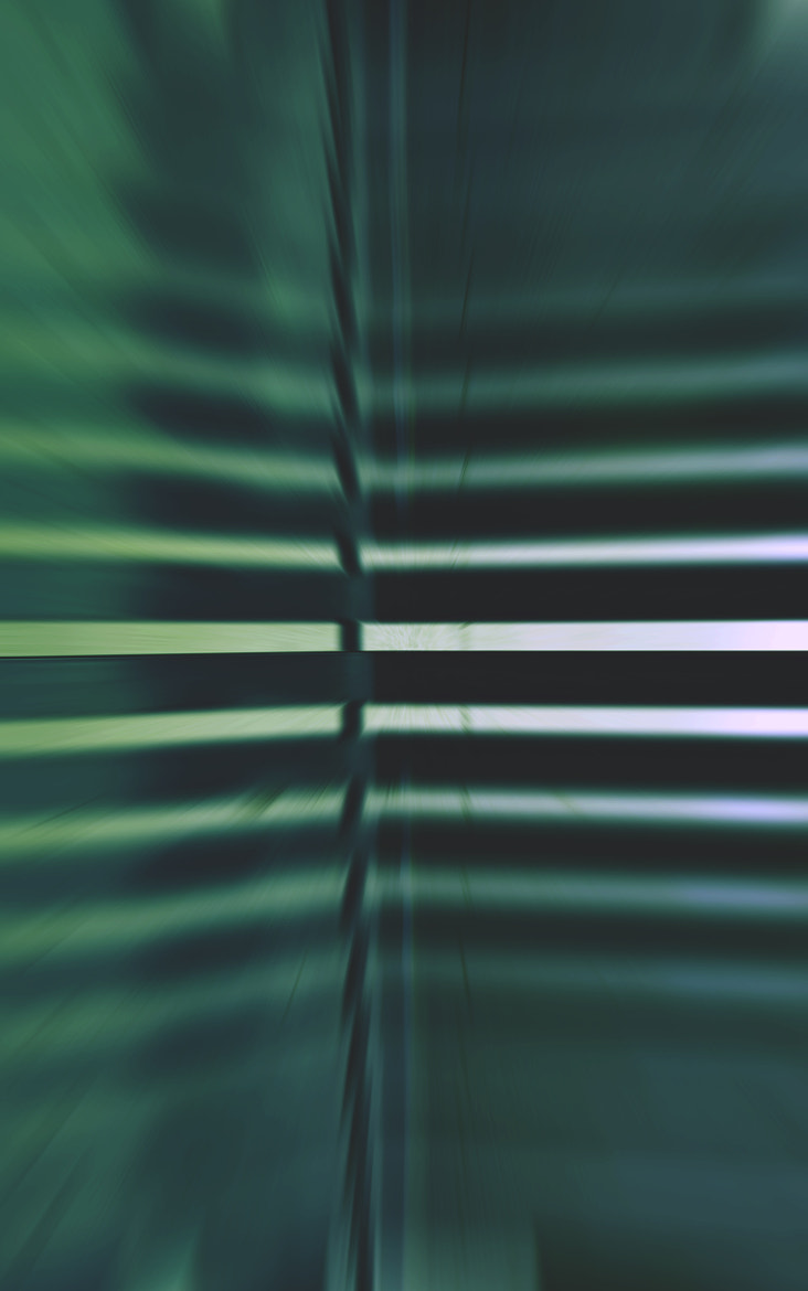 Photograph Linear Geometric Functions - Horizontal in Green Variation  by Mark Hendrickson on 500px
