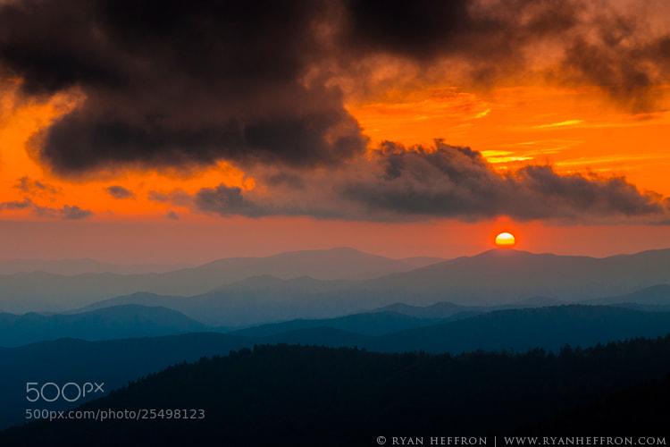 Photograph Smoky Sunset by Ryan Heffron on 500px