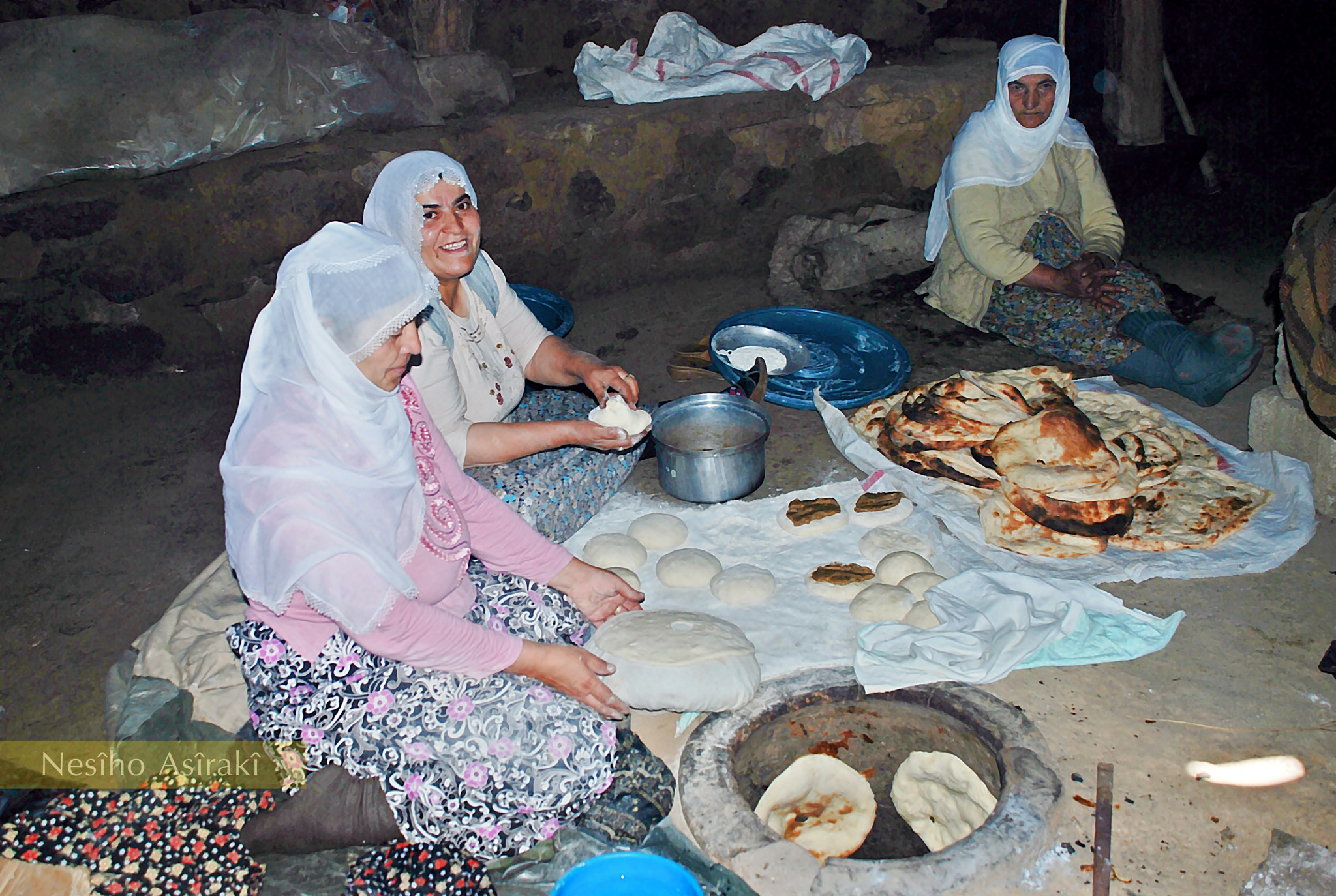 Photograph Baking Kurdish Bread by Nesiho Asiraki on 500px